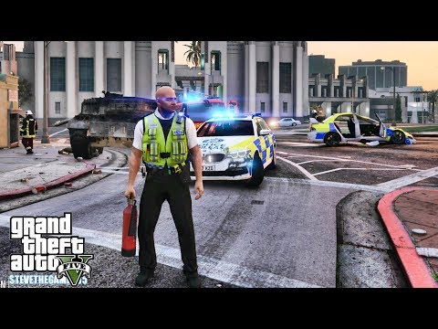GTA 5 MODS LSPDFR 1082 - BRITISH PATROL!!! (GTA 5 REAL LIFE PC MOD)