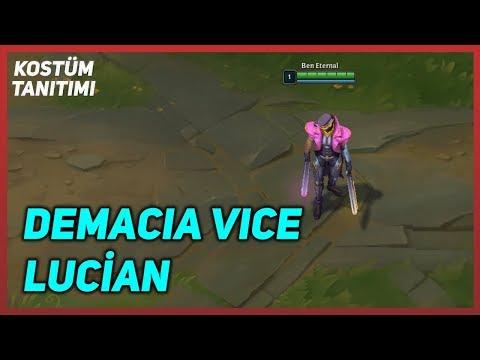 Demacia Vice Lucian - Kostüm Tanıtımı - League of Legends