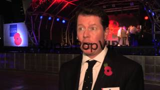 INTERVIEW - Charles Byrne on Remembrance Day at RAF North...