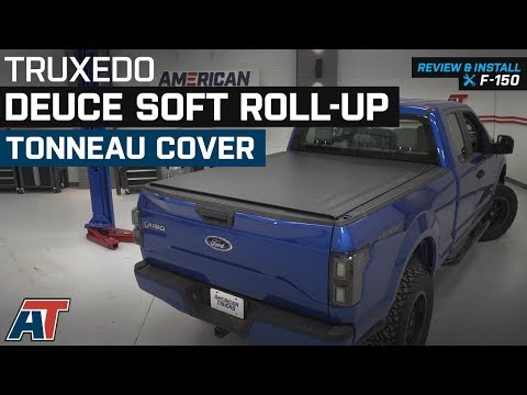 2015-2018 F150 Truxedo Deuce Soft Roll-Up Tonneau Cover Review & Install