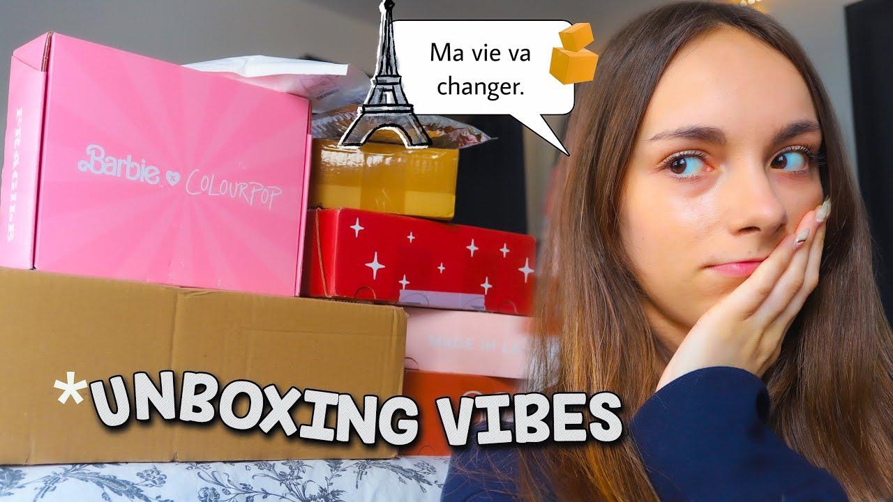 CHIT CHAT UNBOXING :  déménagement à Paris? J'arrête les études? TROP DE TRUCS À DIRE !