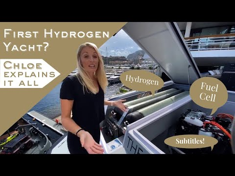 First Hydrogen Yacht? - Chloe explains it all