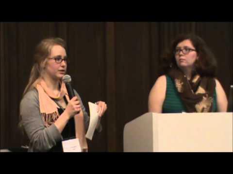 2013 ACM Student Symposium - Valmai Hanson & Addie Washington, Beloit College