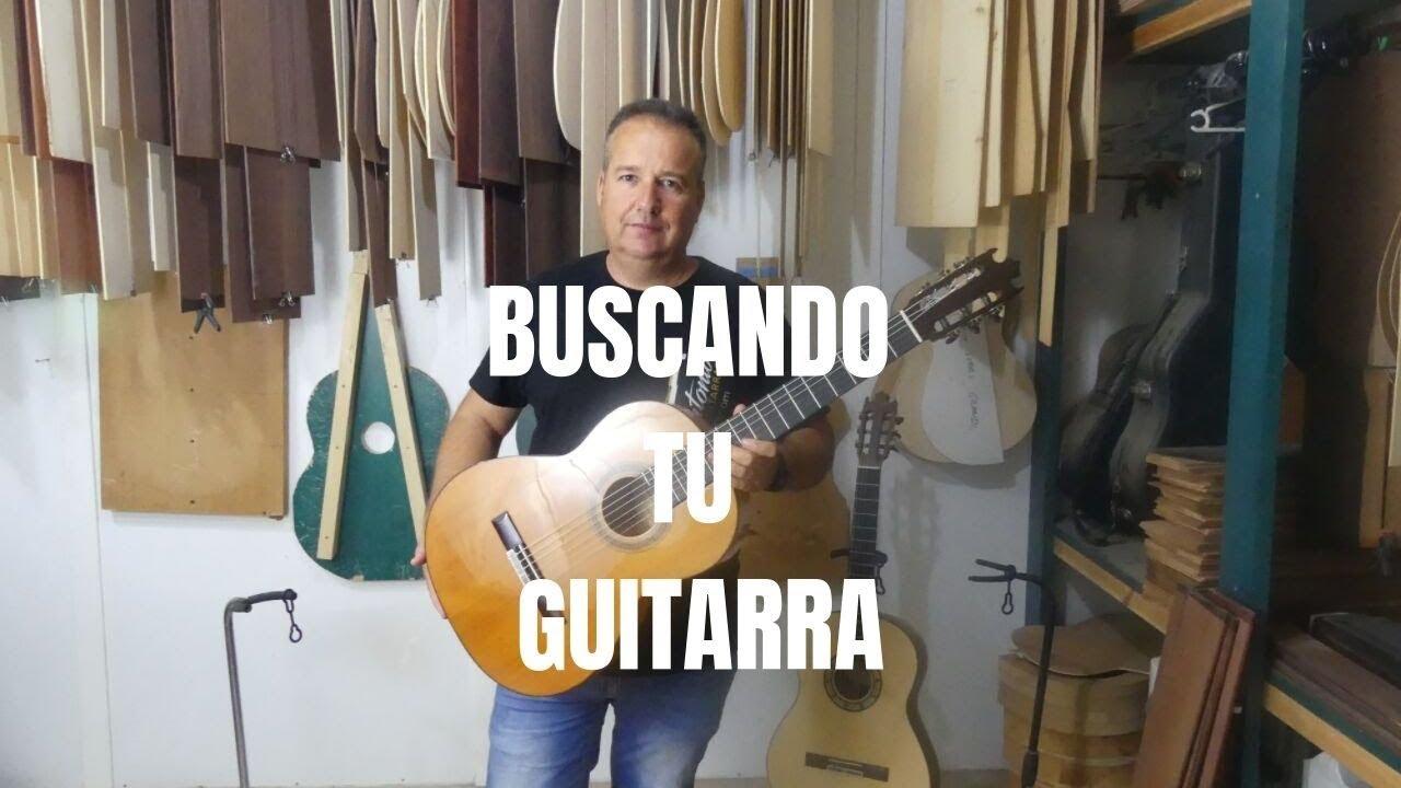 BUSCANDO TU GUITARRA (Volvemos al taller de José Gomez)