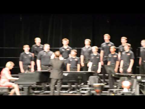 Walleye Joe, sung by the Hayes HS Men