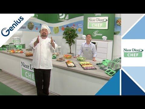 GENIUS  Nicer Dicer Chef TV-Infomercial