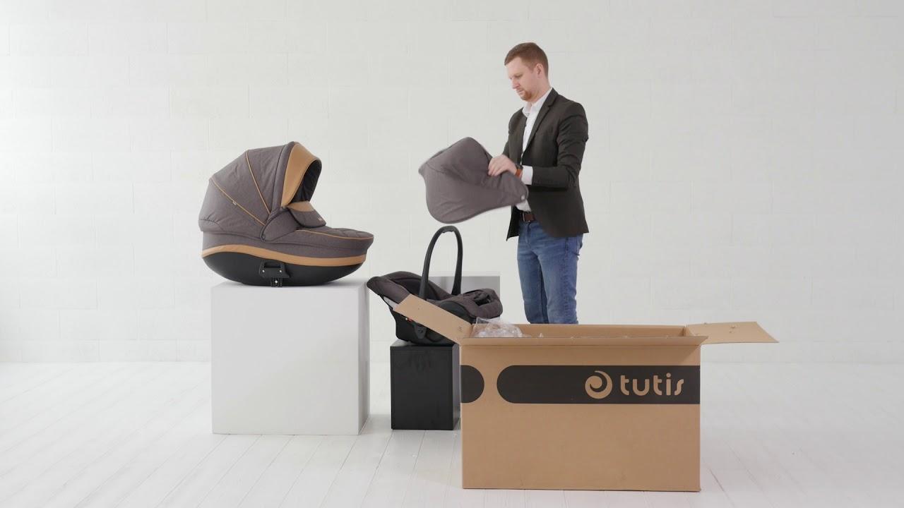 Детская коляска Tutis Mimi Style 2021 3 в 1