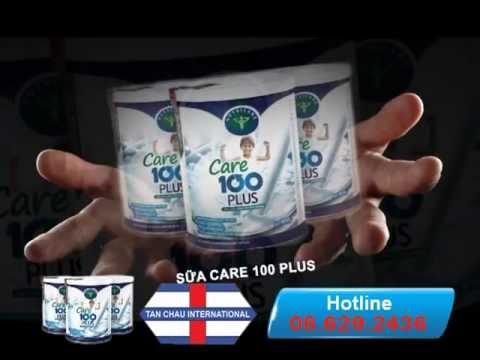 Sữa CARE-100 PLUS Cho Trẻ Biến Ăn
