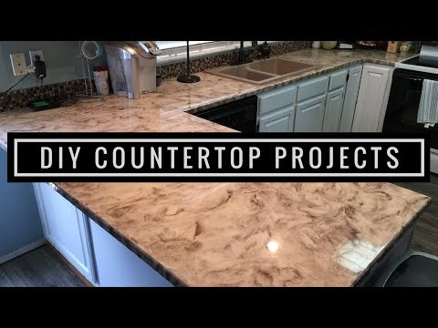 Metallic Epoxy DIY Customer Install 1 | Countertop Resurfacing Kits
