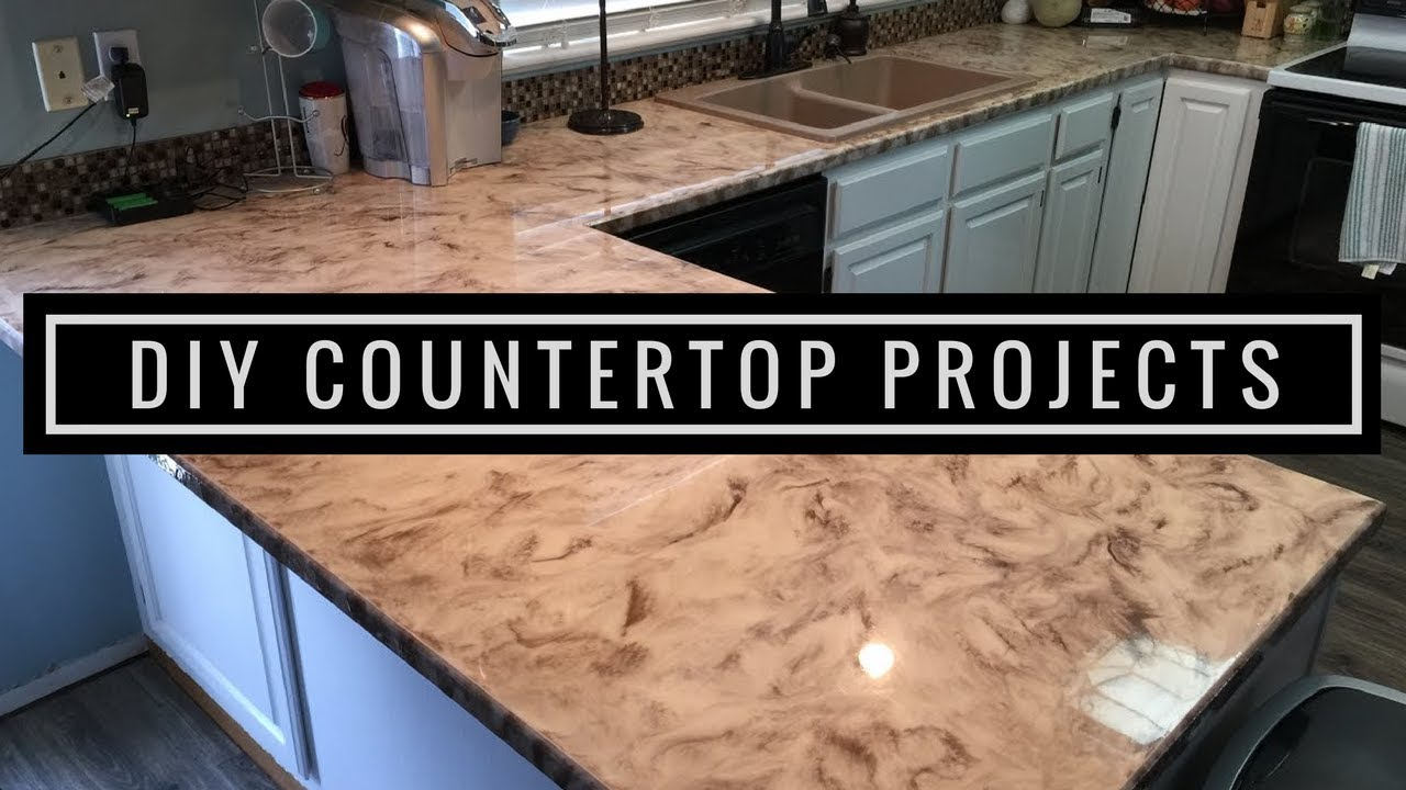 Metallic Epoxy DIY Customer Install 1 | Countertop Resurfacing Kits