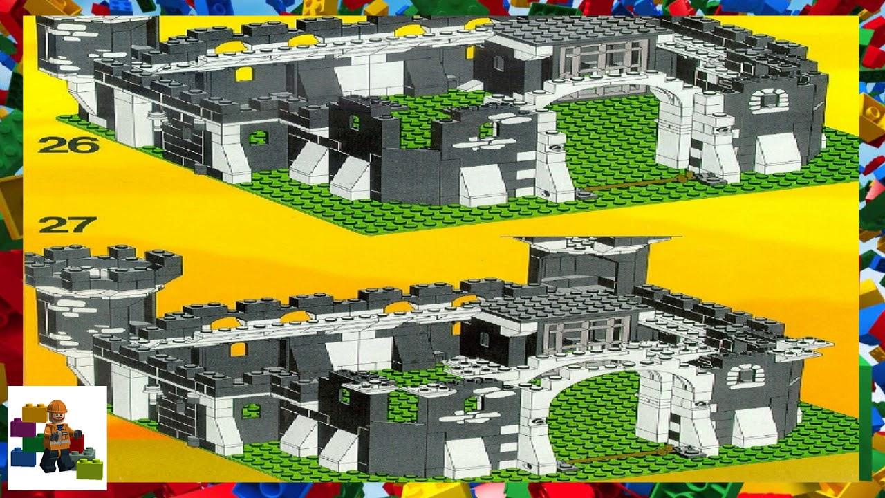 Lego Instructions Castle Black Knights 6085 Black Monarchs