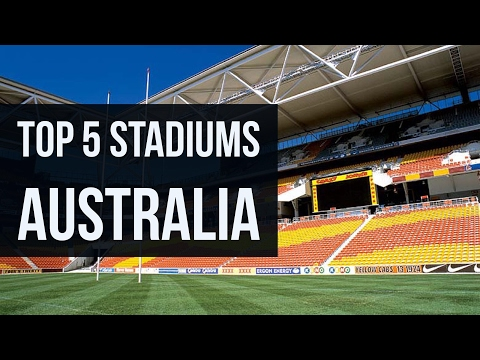 Top 5 Biggest Stadiums in Australia