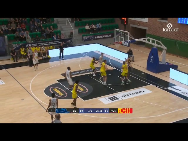 Highlights Bakken Bears - Horsens IC