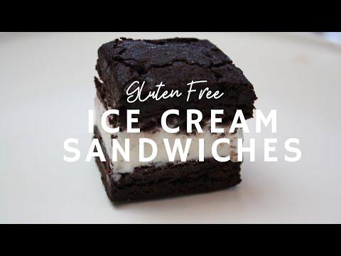 Gluten Free Ice Cream Sandwiches