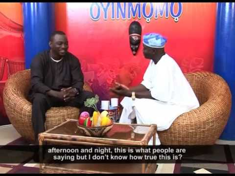 Oyinmomo - Interview with WASIU ALABI PASUMA (THROWBACK)