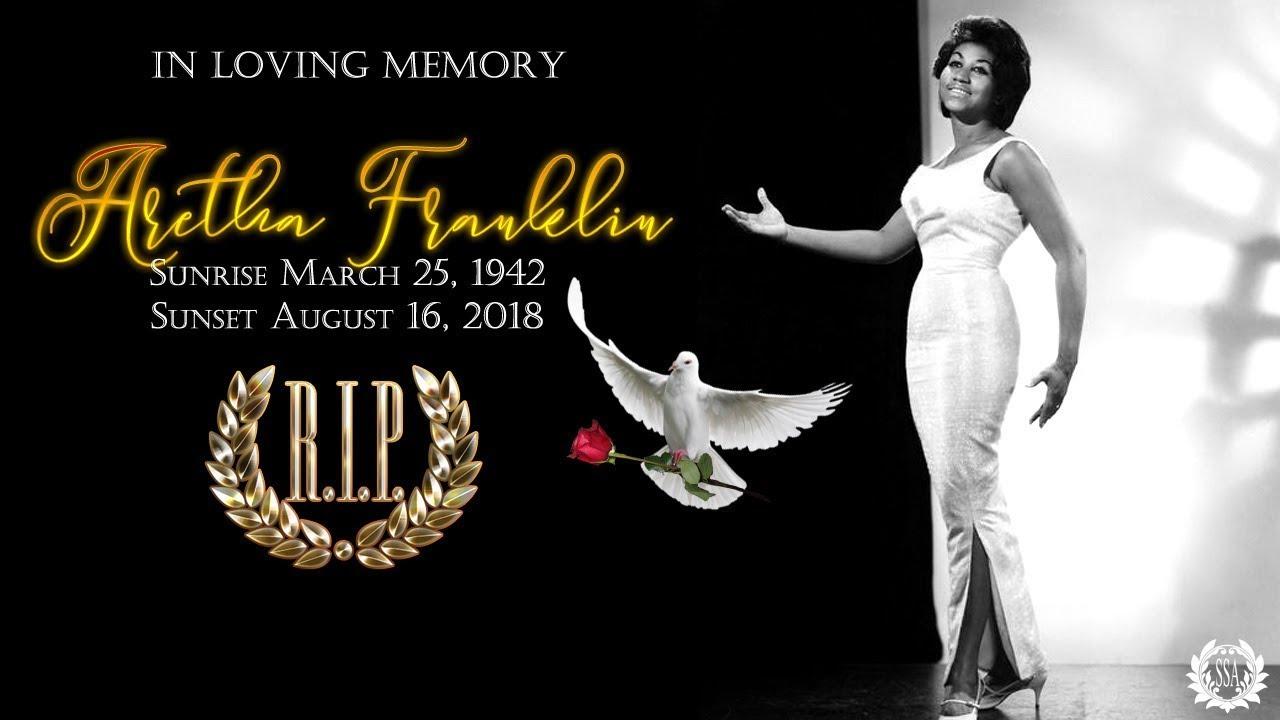 In Loving Memory... Aretha Franklin 1942-2018 (HD)