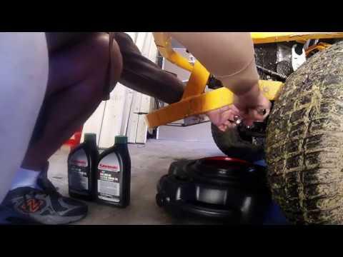 Cub Cadet Ultima ZT1 50 - 5hr Break-in Oil/Oil filter change