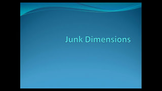 What are Junk dimensions?