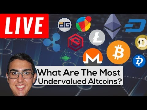 What Are The Most Undervalued Altcoins In 2018?