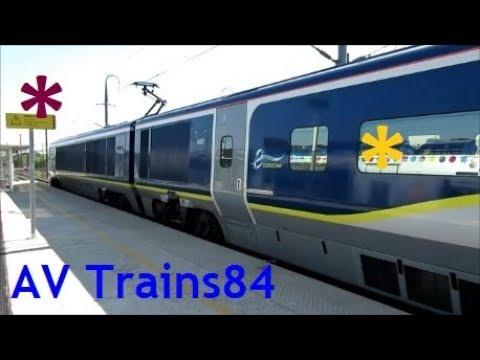 Retour en Gare d'Avignon-TGV pour quelques trains... :-)