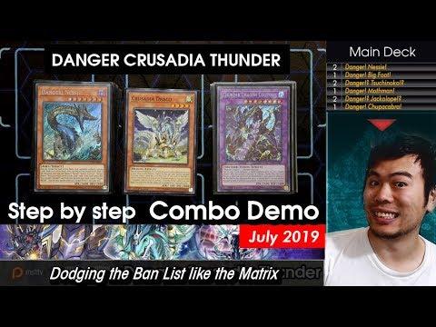Download Tier STRONG AF Danger Crusadia Thunder Combo Guide - Deck Profile July 2019