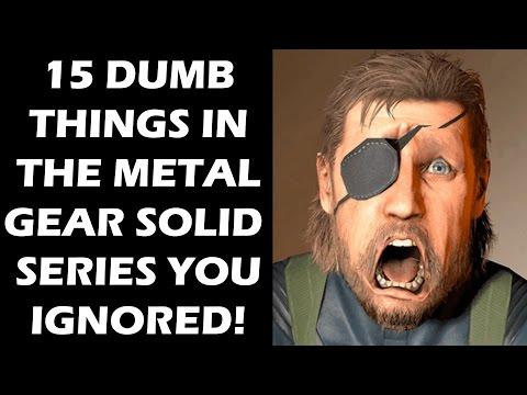 15 DUMB Things In The Metal Gear Solid Series Everyone Just Ignored