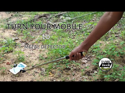 Turn Your Android Mobile Into Metal Detector | Tamil Tech Guys