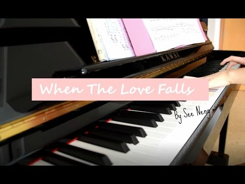 When The Love Falls - Yiruma (이루마) Cover