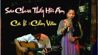 BOLERO guitar / Sao Chưa Thấy Hồi Âm / ca lẻ Cẩm Vân /guitar Bolero /Nhạc Lính /kênh youtube Ducmanh