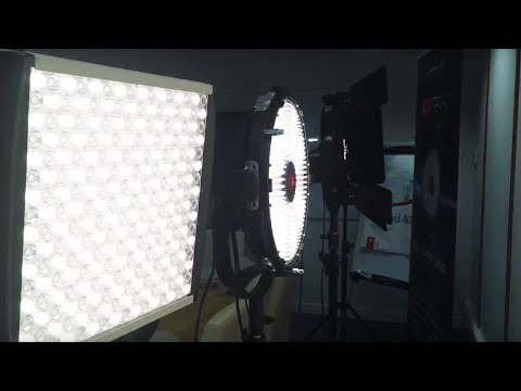 Rotolight Anova PRO : FX Slave 'Fire' Feature Demonstration with Litepanels Astra