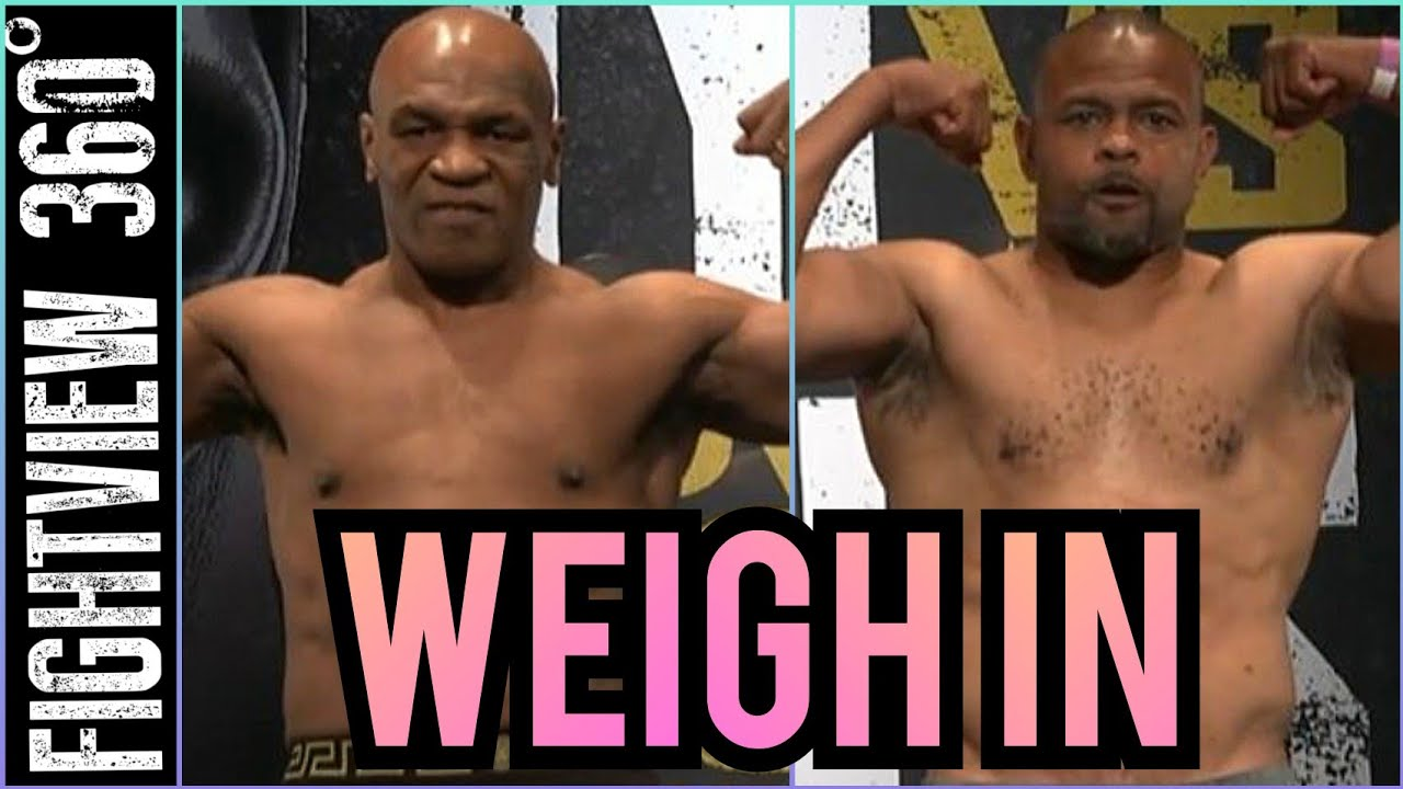 Download 📡🔴 Mike Tyson vs Roy Jones WEIGH IN: Jake Paul vs Nate Robinson FACE OFF - FULL Fight Preview -