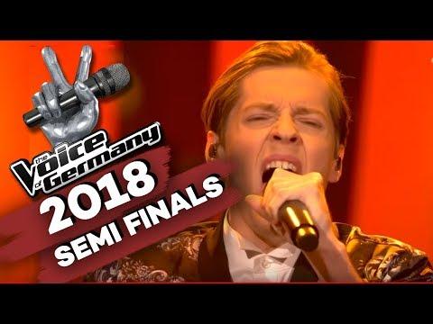 Elvis Presley - Can't Help Falling In Love (Benjamin Dolic) | The Voice of Germany | Halbfinale