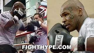 """MIKE TYSON THROWBACK: """"EXPLOSIVE"""" WORKOUT WITH FREDDIE ROACH PRIOR TO DANNY WILLIAMS FIGHT (2004)"""