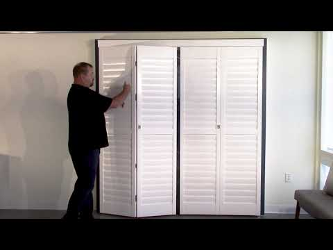 Norman Bi-fold Shutter Track System explained by 3 Blind Mice