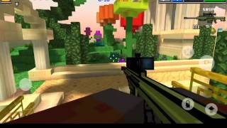Pixel Gun 3D Team Battle #3 Heaven Gardens