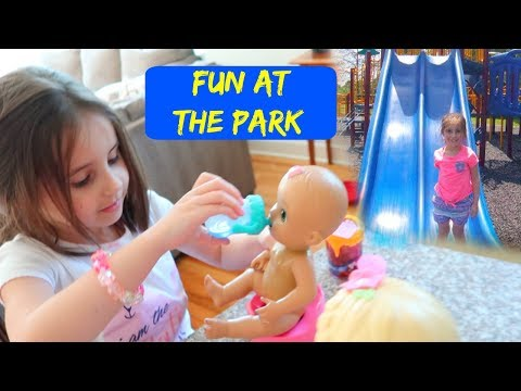 Feeding Baby Dolls, Playing At The Park And PO Box Haul! | ThePlusSideOfThings