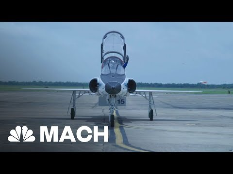 Take A Seat In The Cockpit Of NASA's T38 Jet | Mach | NBC News