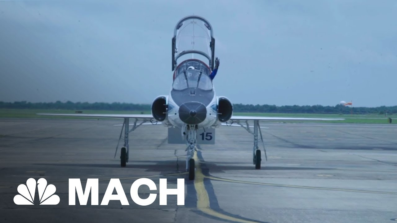 Take A Seat In The Cockpit Of NASA's T38 Jet   Mach   NBC News