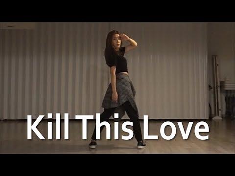[미니츄움] BLACKPINK-Kill This Love  dance cover(mirrored) │블랙핑크-킬디스럽 안무 거울모드