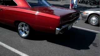 1969 Plymouth Roadrunner 440 2012 cruise into fall car show
