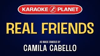Real Friends (Karaoke Version) - Camila Cabello | TracksPlanet