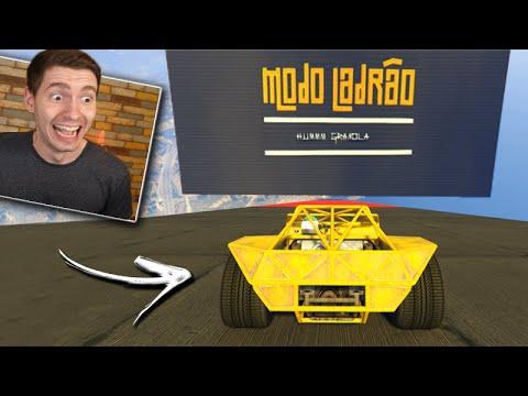 GTA V Online: CORRIDA do MODO LADRÃO!!! (MEGA RAMPA do LADRÃO)