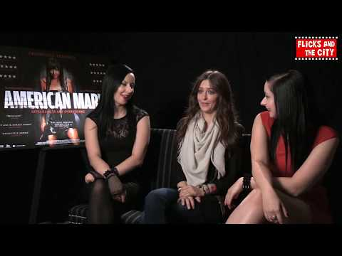 American Mary Interview - Katharine Isabelle & Soska Sisters