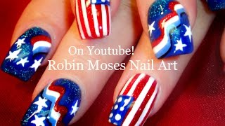 4th of July Nail Art Design Tutorial