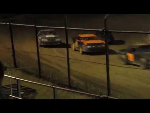 Creek County Speedway - Mini Stock Main 8/30/14