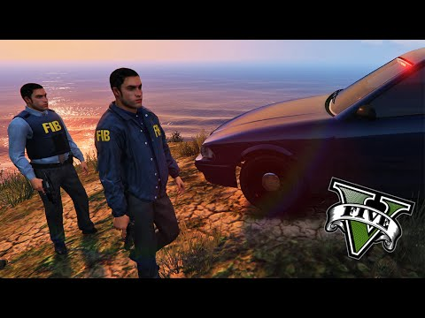 GTA V PC Mods - Agentes Del FBI !! - GTA 5 LCPDFR - ElChurches