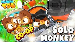 COOP | Solo Monkey | Zrobili całą robotę | Bloons TD6 PL