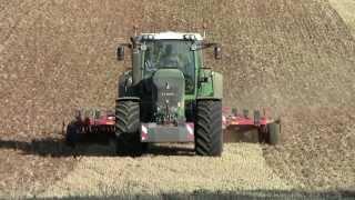 824 Vario Scr in a BIG FIELD in France - Terrano 6 FX - Minimum Tillage