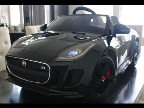 Unboxing And Embly Of Jaguar F Type 12v Battery Ed Car For Kids