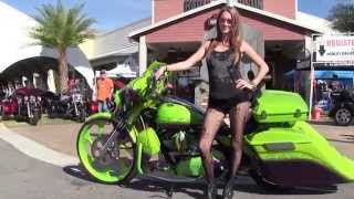 Harley Davidson Thunder Beach Rally  2015 - Episode 1 Bike Week